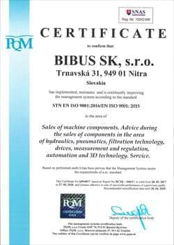 Bibus ISO 9001 EN