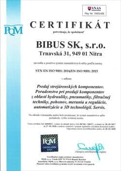 Bibus ISO 9001 SK